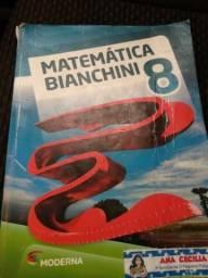 Livro de matemática Bianchini 8 ano