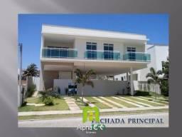CA0130 - Casa nova com 451M² de área construída no Alphaville Fortaleza