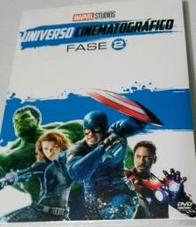 Box em DVD Marvel Universo Cinematográfico - Fase 2