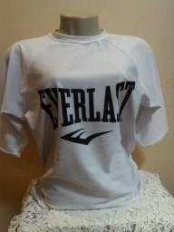 b24d456140 Blusa Camiseta Camisa Everlast Feminina - Original