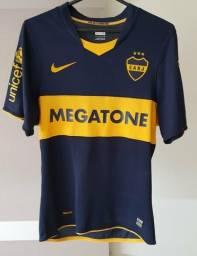 6bee1392978 Camisa oficial Boca Juniors I 2008 Nike
