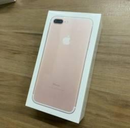 IPhone 7 Plus 128gb Rosé LACRADO 1 ANO GARANTIA APPLE
