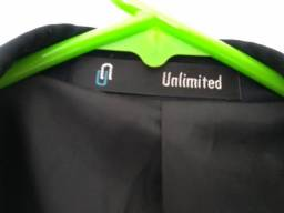 Blazer unlimited preto - listra - tamanho 54 - G