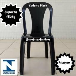 Cadeira plástica Black