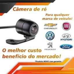 Kit Camera De Ré Estacionamento Borboleta Universal Colorida