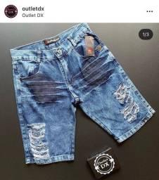 Bermuda jeans r$ 55,00