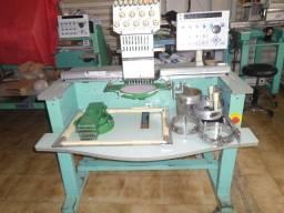 Maquina de bordado tajima tmex tipo 01 / 01 cabeça