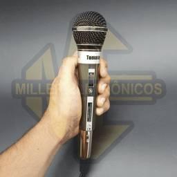 Microfone Com Fio Profissional Dinamico Mt-1004 Tomate