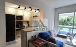 Apartamento com 2 dormitórios à venda, 62 m² por R$ 380.000 - Quintas da Glória - Macaé/RJ