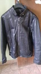 Jaqueta de couro legítimo G