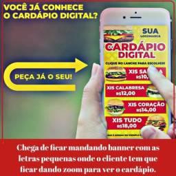 Cardápio Digital clicável!!!-