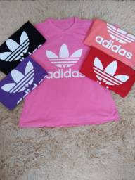 Camiseta Feminina Blusa T-shirt adidas