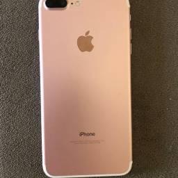 Vendo ou Troco Iphone 7 plus 32gb rose