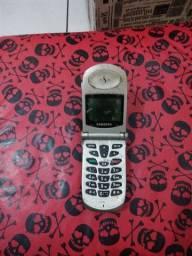 Telefone antigo Samsung cdma modelo SCH-811
