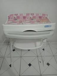 Vendo trocador mais banheira usado