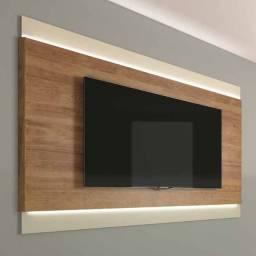 "Painel 2.0 Vivante para TV até 72"" Caemmun Movelaria Buriti/Off-White CestaPlus"