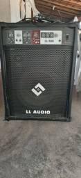 Caixa Amplificada Multiuso 15 Pol 150W RMS LL500FM LL Áudio<br>