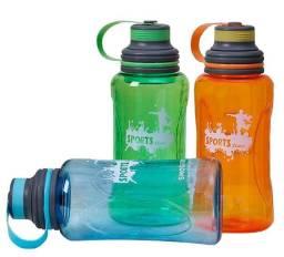 Garrafa D'água Em Plastico De 1 Litro Squeeze Com Alça - 82945