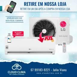 Ar Condicionado LG Dual Inverter Voice 9mil btus
