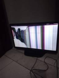 Tv LG 22 polegadas quebrada