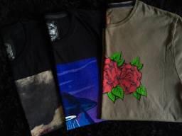 Camisas e bermudas super exclusivas por apenas 30 reais