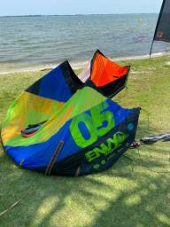 Kitesurf completo tamanho 5m