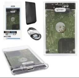 HD Externo Barato - USB 3.0 - Perfeito - 500gb - Parcelo