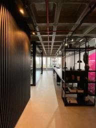 Sala Comercial Vint Offices - toda mobiliada no Exposição 60m2