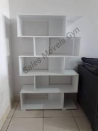 Estante para Livros Madri 100% MDF *Novo na Caixa