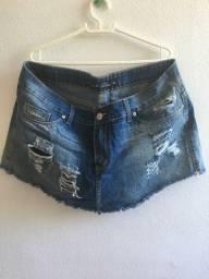 Dois shorts jeans