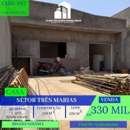 Casa De 3 Quartos - St. 3 Marias - Goiânia