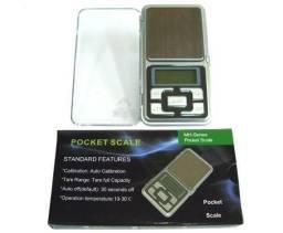Mini Balança Digital De Precisão - pocket scale de 1 grama a 500 grama