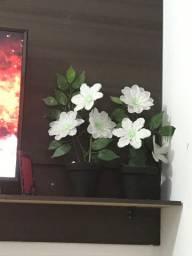 Vasos de flor artificial