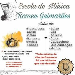 Escola de música Romeu Guimarães