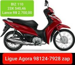 BIZ 110 Lance R$ 2.700,00 Consórcio Andamento
