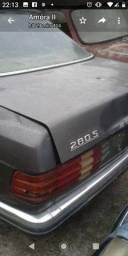 Mercedes 1982 280S,  sucata para vender inteiro.