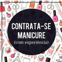 Contrata-se Manicure/ Pedicure