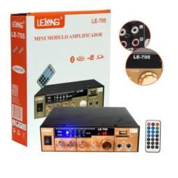 Amplificador Áudio Receiver Bluetooth - Novo