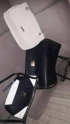 3 bolsas e 1 carteira