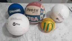 5 bolas variadas