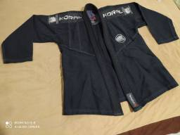kimono de jiu-jitsu koral todo preto