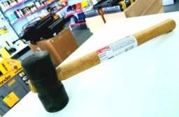 Martelo de borracha, 40 mm, preto, NOVE54