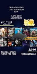 PS3 com o melhor preço, vem pra x1, chama o Ivan Rodrigues