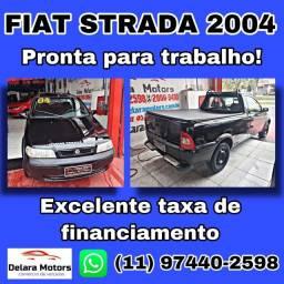 Fiat Strada 2004 - Pronta Trabalho - Toda revisada - Financiamos