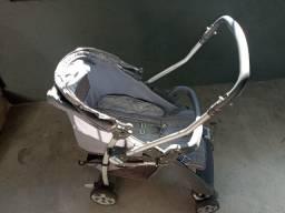Carrinho + Bebê Conforto - Burigotto