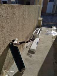Manutenção preventiva- Higienização de ar-condicionado split.