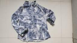 Camisa manga longa ou curta