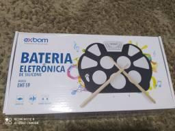 Bateria eletrônica de silicone EMT-S9