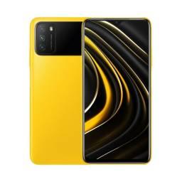 Celular Xiaomi Poco M3 Dual 128 GB - Amarelo