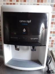 Bebedouro de Mesa Refrigerado por Compressor Newup Evidence Branco